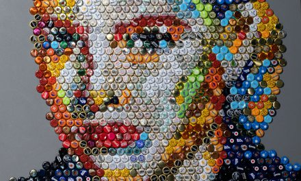 Kronkorken Pop-Art